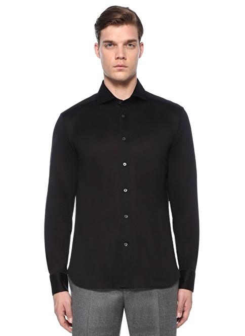 Corneliani Gömlek Siyah